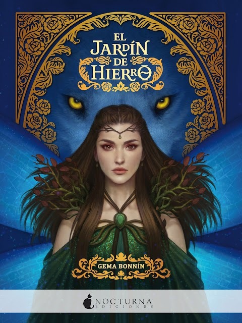 Recomendaciones de libros de fantasía y romance; El jardín de hierro de Gema Bonnín