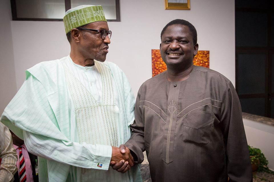 Femi Adesina Says Is Only Corrupt People Who Bear Malice & Wish Buhari Dead