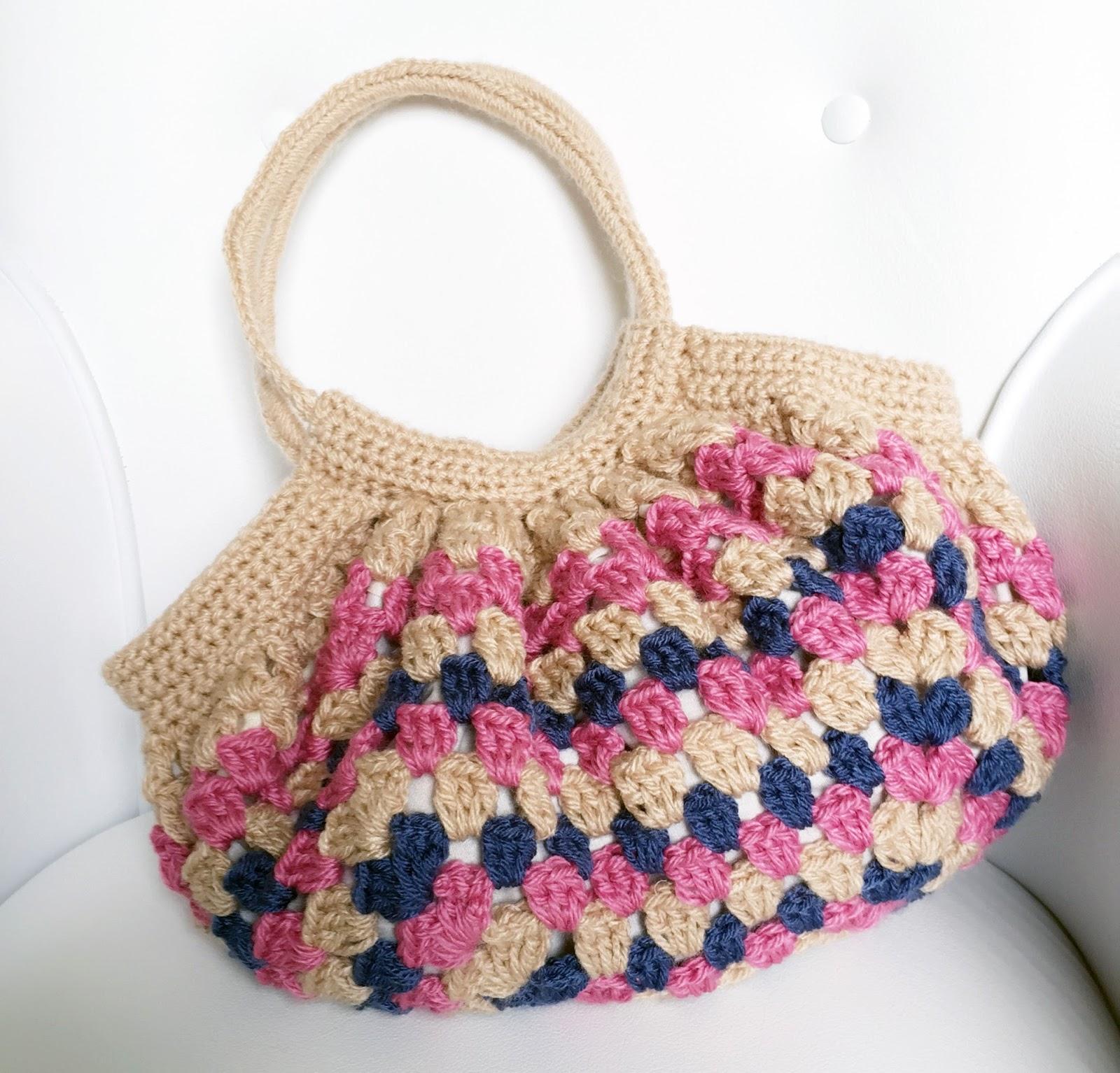 Bolsa Para Carregar Cachorro Em Croche : Modernizando o croch? bolsa square modelo striped bag