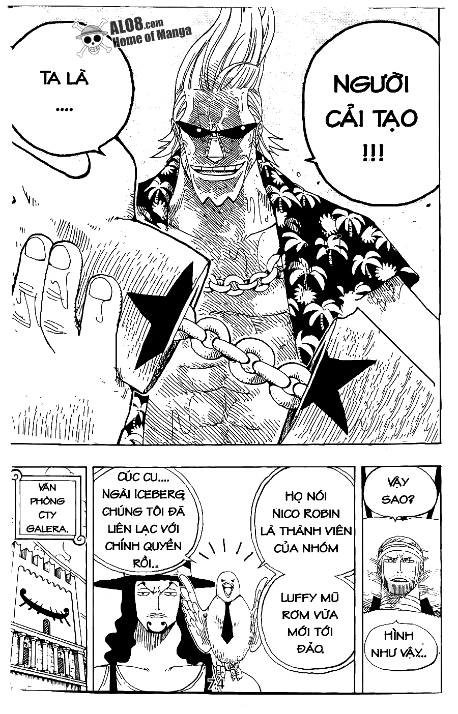 One Piece Chap 336