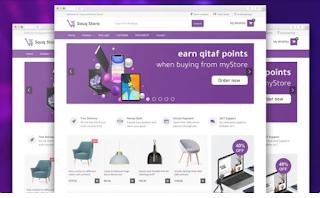 Souq Store Blogger Template Premium