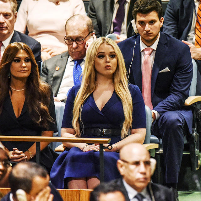 Tiffany Trump Made a Surprise Appearance at, Yes, the U.N. General Assembly