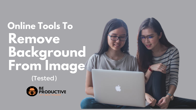 Best Online Tools to Remove Background From Image