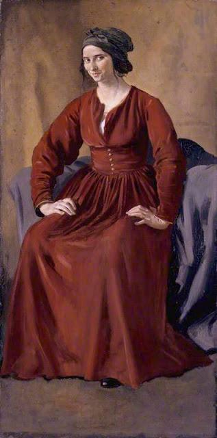 Augustus Edwin John Улыбающаяся женщина