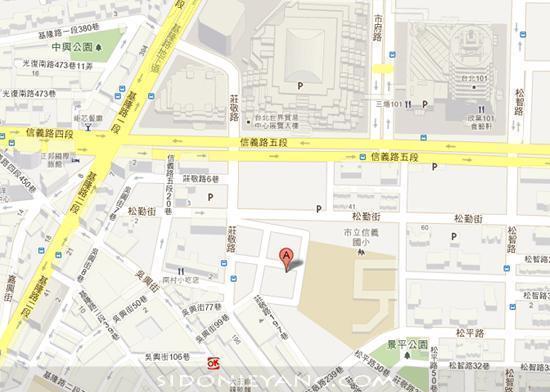 Simple Market 四四南村地圖