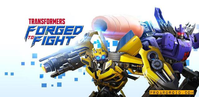 تحميل لعبة الروبوتات TRANSFORMERS Forged to Fight النسخة المهكرة للاجهزة الاندرويد