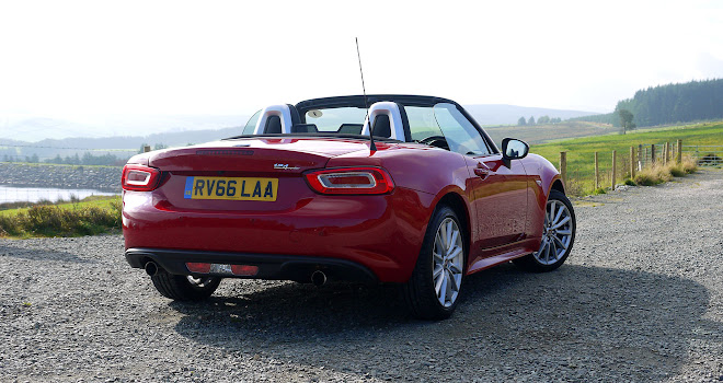 Fiat 124 Spider rear view