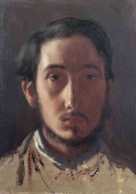 Эдгар Дега - Автопортрет (ок.1857)