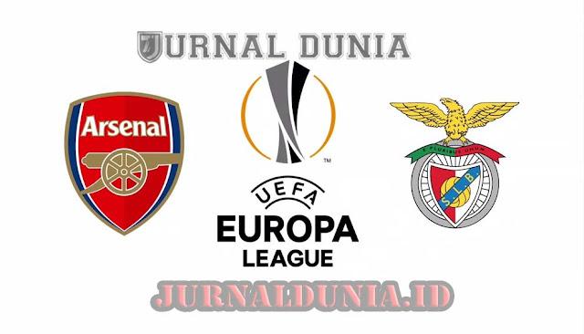 Prediksi Arsenal vs Benfica, Jumat 26 Februari 2021 Pukul 00.55 WIB