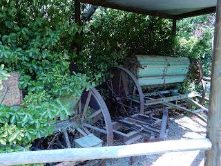 Parco Gallorose(ガッロロゼ公園)農機具
