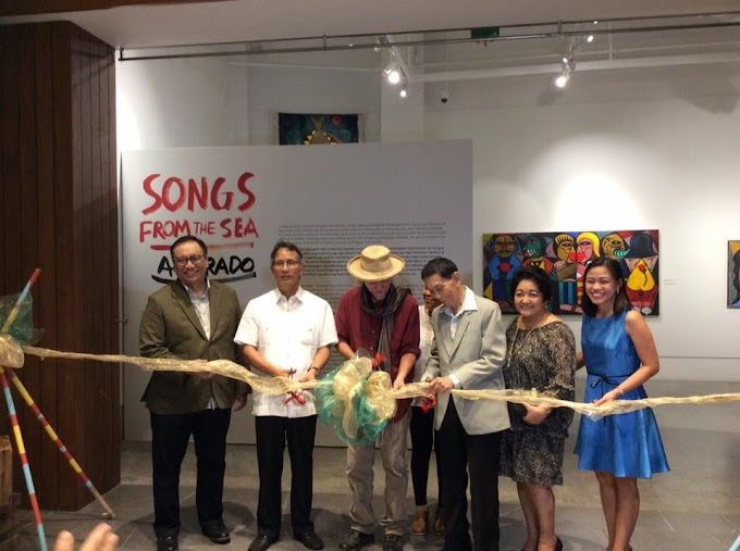 Renowned Artist Nune Alvarado Launches First Exhibit in ILOMOCA entitled, 'Songs from the Sea'