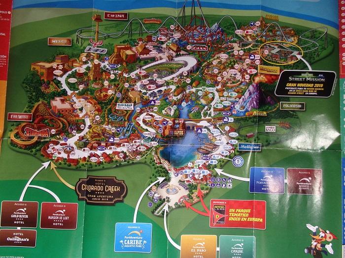 Mapa Port Aventura 2019.Port Aventura World Un Viaje De Fantasia