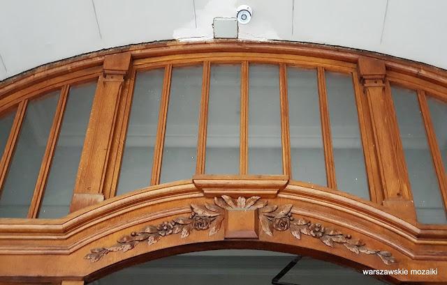 drzwi Warszawa Warsaw kamienica Śródmieście architektura architecture Józef Czerwiński Władysław Heppen Elektrownia Warszawska przedwojenna