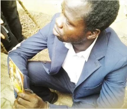 See the Face of the Man Who Blackmails Well Established Pastors (Photo)