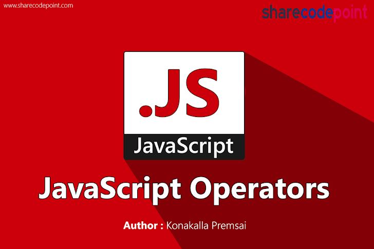 JavaScript Tutorial : Introduction to operators in JavaScript - Javascript Arithmetic Operators