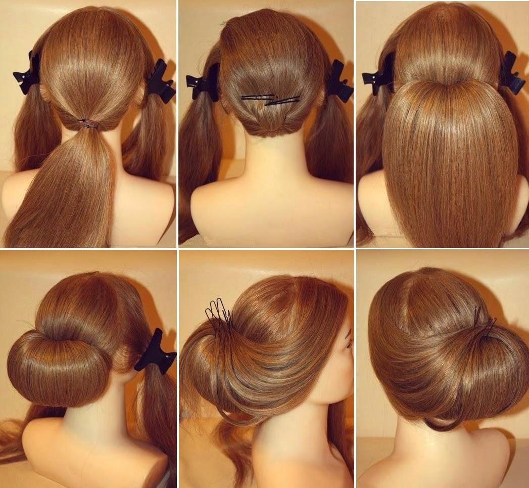 Wedding Hairstyle Roll: DIY: How To Stunning Roll Up Wedding Updo Hairstyle