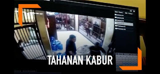 Pakai Sapu Lidi, Tujuh Tahanan Mapolres Semarang Kabur