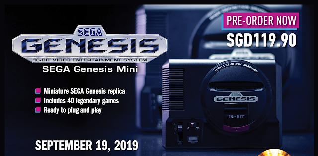 SEGA Genesis Mini Ranneveryday
