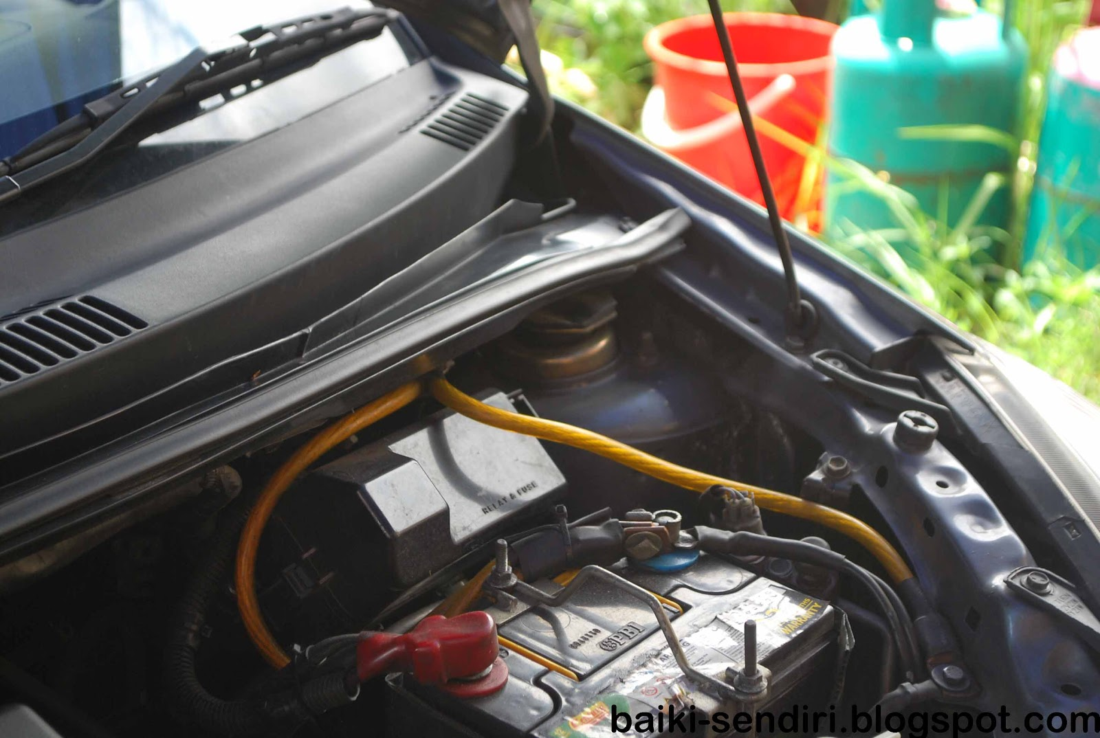 DIY: Fix On Your Own: Replacing Myvi Absorber Top Mounting