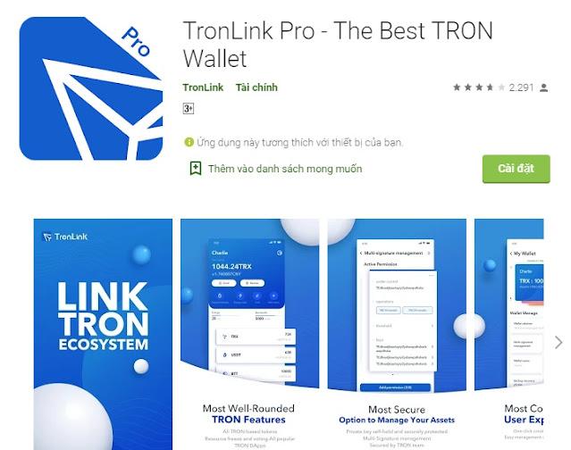 Tronlink airdrop