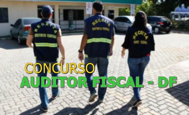 Edital do concurso Auditor fiscal-DF