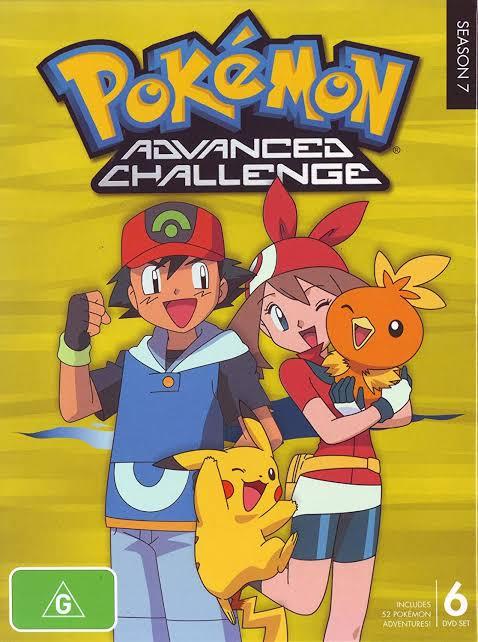 Pokemon Season 07 Advanced Challenge Images In 720P, 1080P