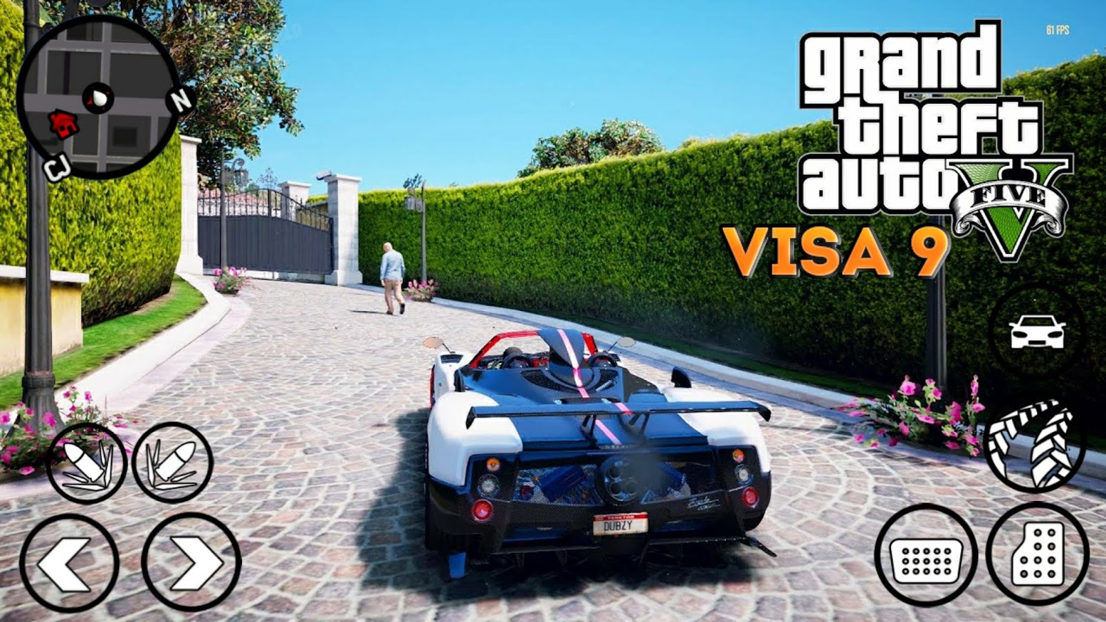 GTA V VISA 9 GRAPHICS MOD | WOW ! GTA 5 FULL MOD | GTA SA