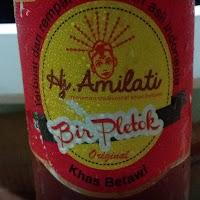 Bir Pletok Hj . Amilati Minuman Kesehatan Tradisional Khas Betawi