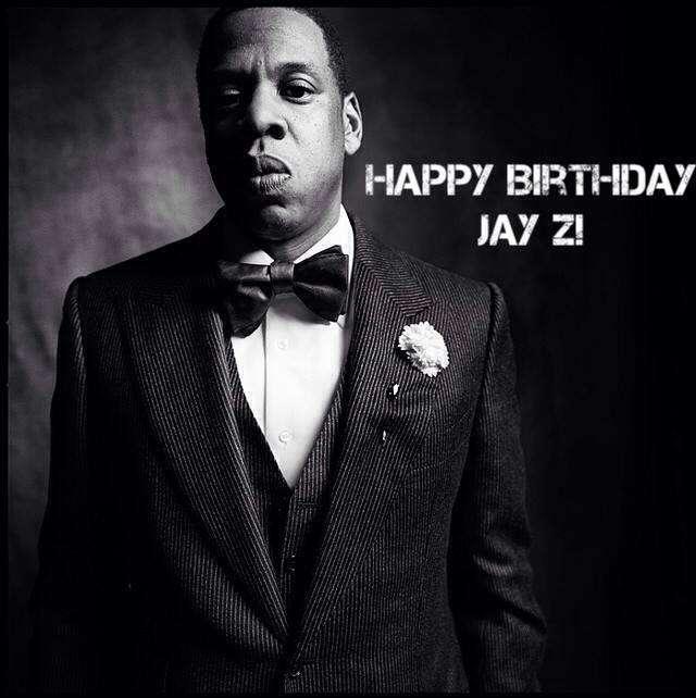 Jay-Z's Birthday Wishes Photos