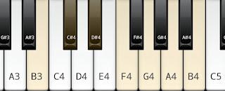 B whole tone scale