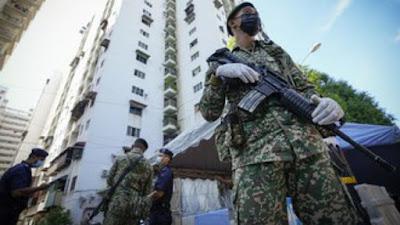 Total Lockdown di Malaysia Diperpanjang
