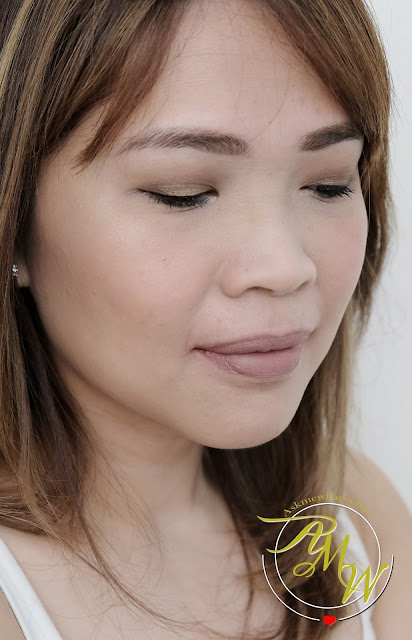 a photo of Pink Sugar Eye Candy Eye Shadow Quad in Cafe Latte review and look by Nikki Tiu Askmewhats
