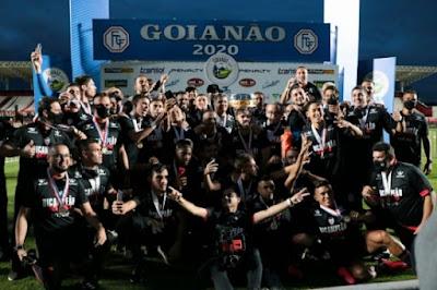 É Campeão! Nos pênaltis Atlético vence Goianésia e conquista o Bi Campeonato Goiano