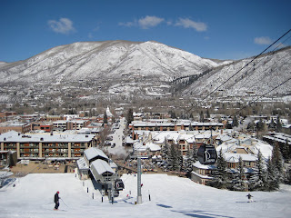 Silver Queen Gondola in the town of Aspen