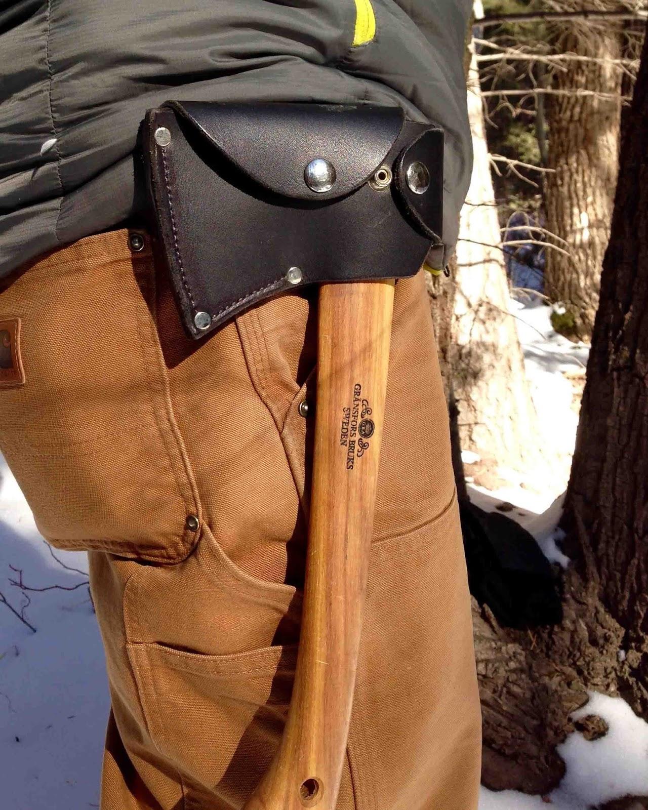 "My Winter 2017 Capsule Wardrobe: Rocky Mountain Bushcraft: My Winter Survival ""knife"""