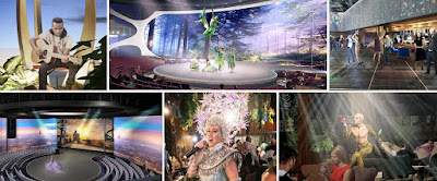 Celebrity Cruises' Celebrity Edge's Revolutionary Entertainment Venues