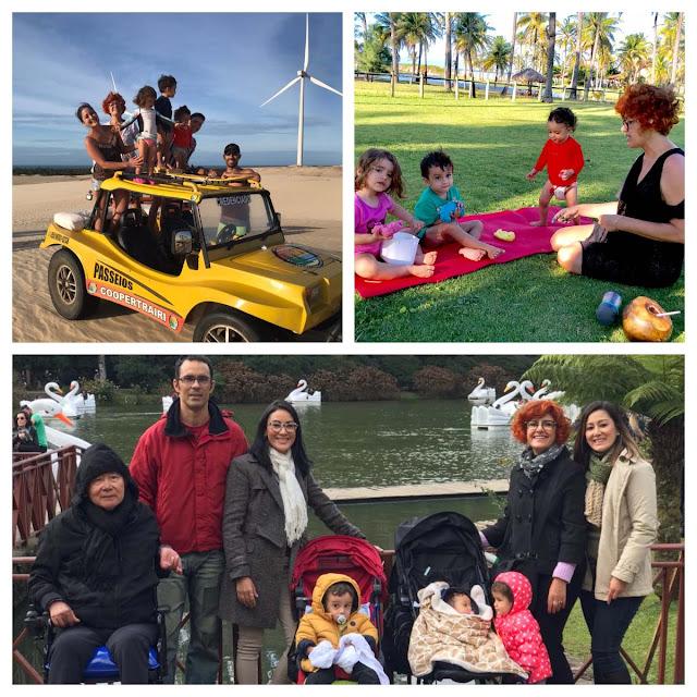 Viagens com filhos:histórias de famílias viajantes.