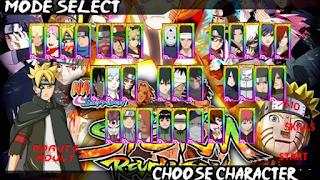 Download Naruto Senki Ultimate Ninja Storm Revolution Mod by Tutorial Production Apk