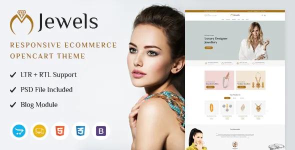 Best Jewellery Shop Responsive OpenCart Theme
