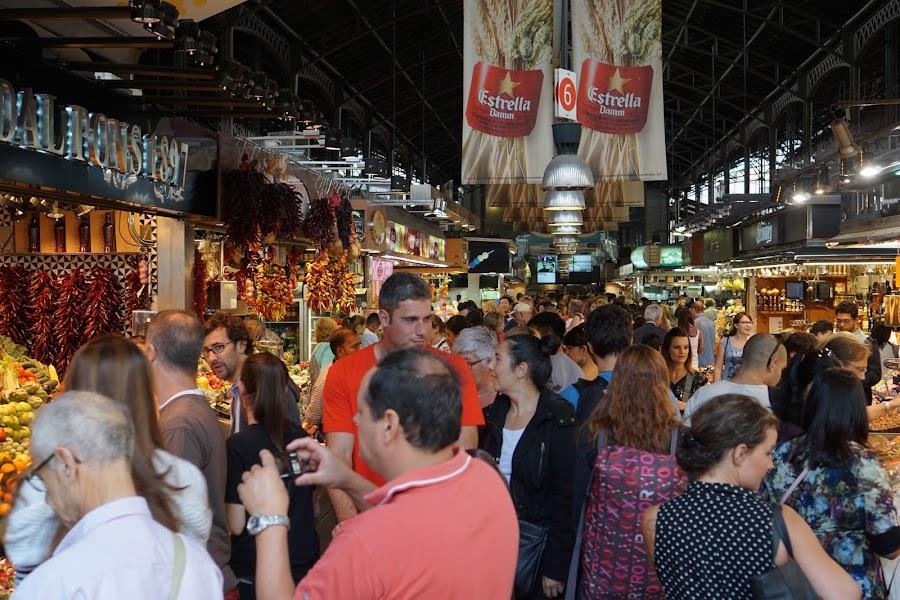 ボケリア市場(La Boquería)