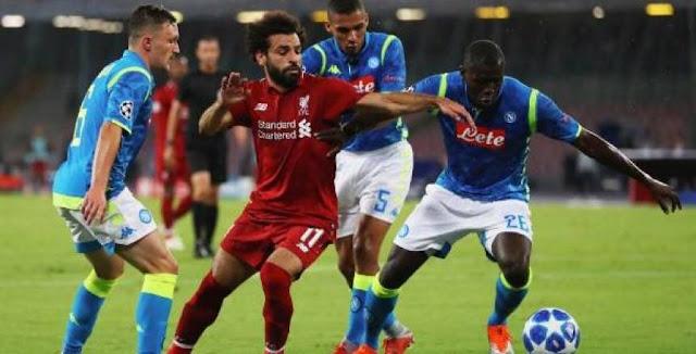 مشاهدة مباراة ليفربول ضد نابولي بث مباشر Live اونلاين في دوري أبطال أوروبا اليوم الاربعاء 27-11-2019