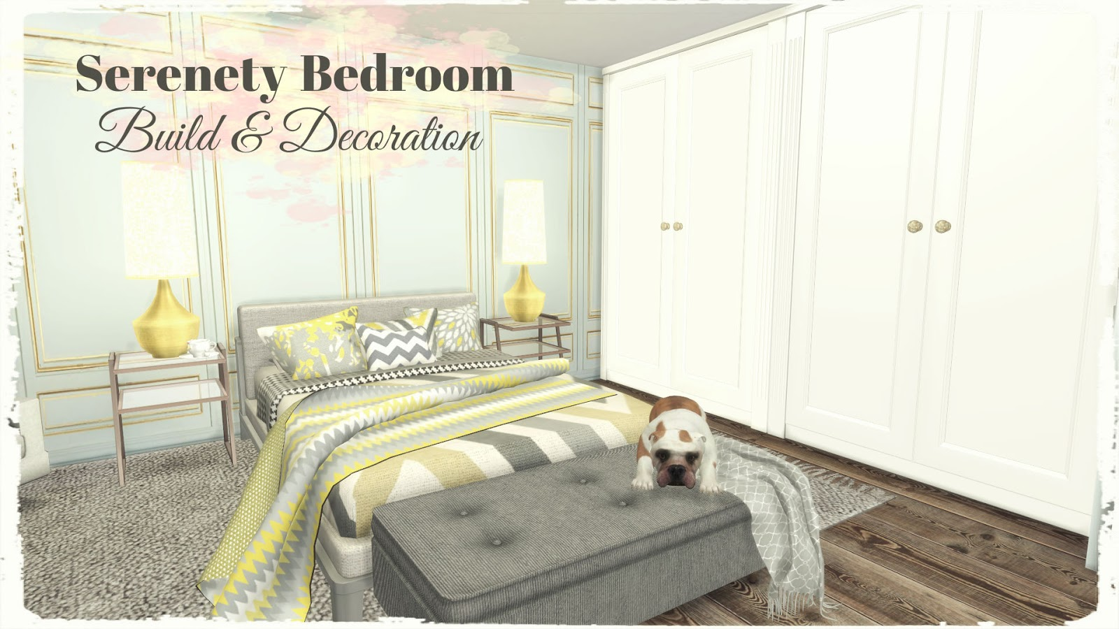Serenety Bedroom (Build & Decoration For Download