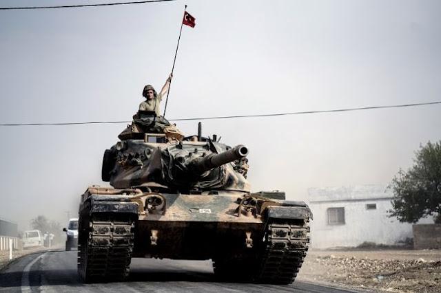 Ερντογάν: «Άρχισε η στρατιωτική επιχείρηση στη Συρία»