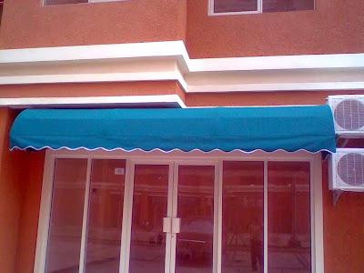 awning kain rumah