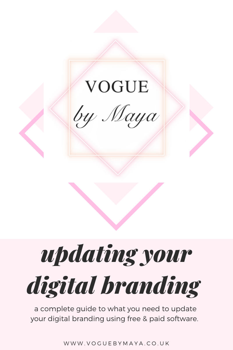 Top tips for updating your digital branding using free software.