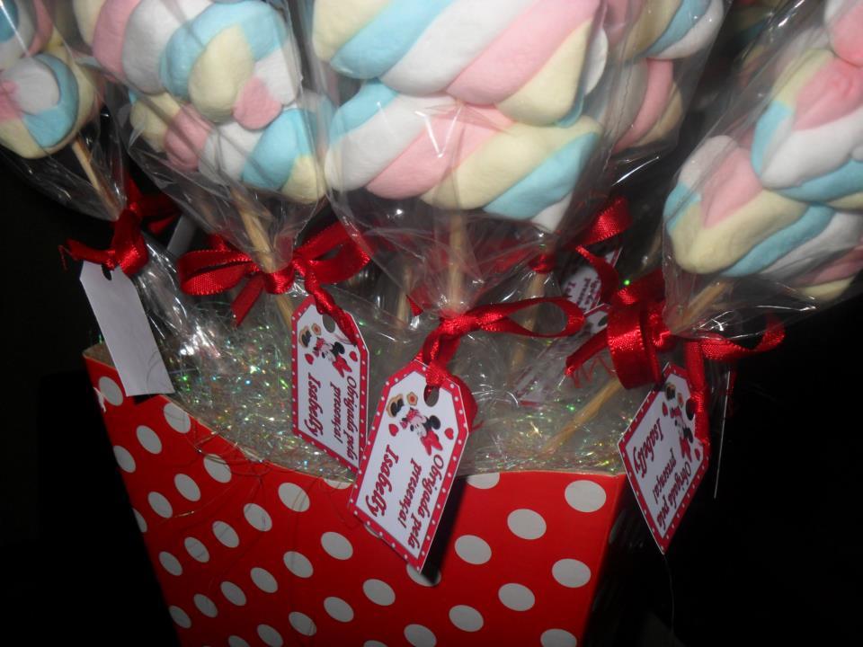 Pura Magia Festas Personalizadas Pirulitos De Marshmallow