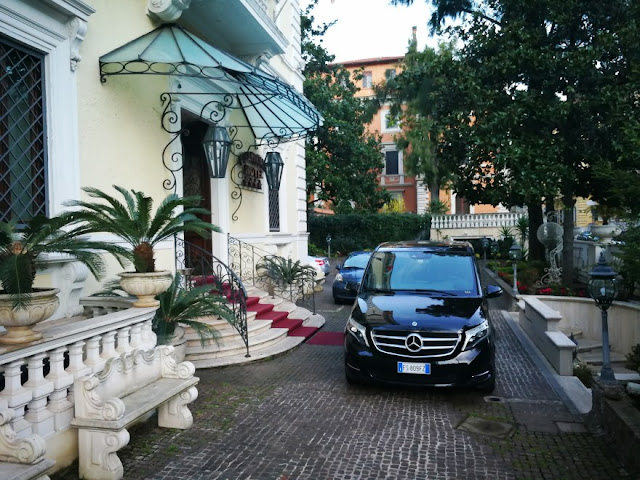 Personal driving Rome Tuscany