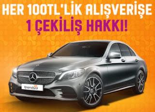 Trendyol Mercedes Çekilişi