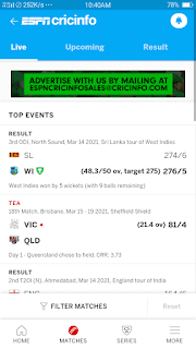ESPNCrincinfo - screenshot 3