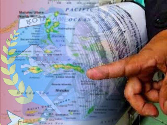 Gempa Bumi 2,4 SR di Latuhalat Tidak Berpotensi Tsunami